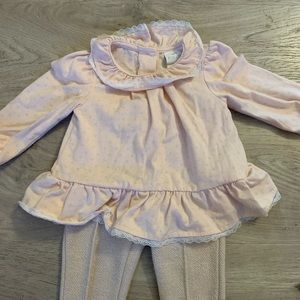Pink & Taupe Outfit by Dylan & Abby